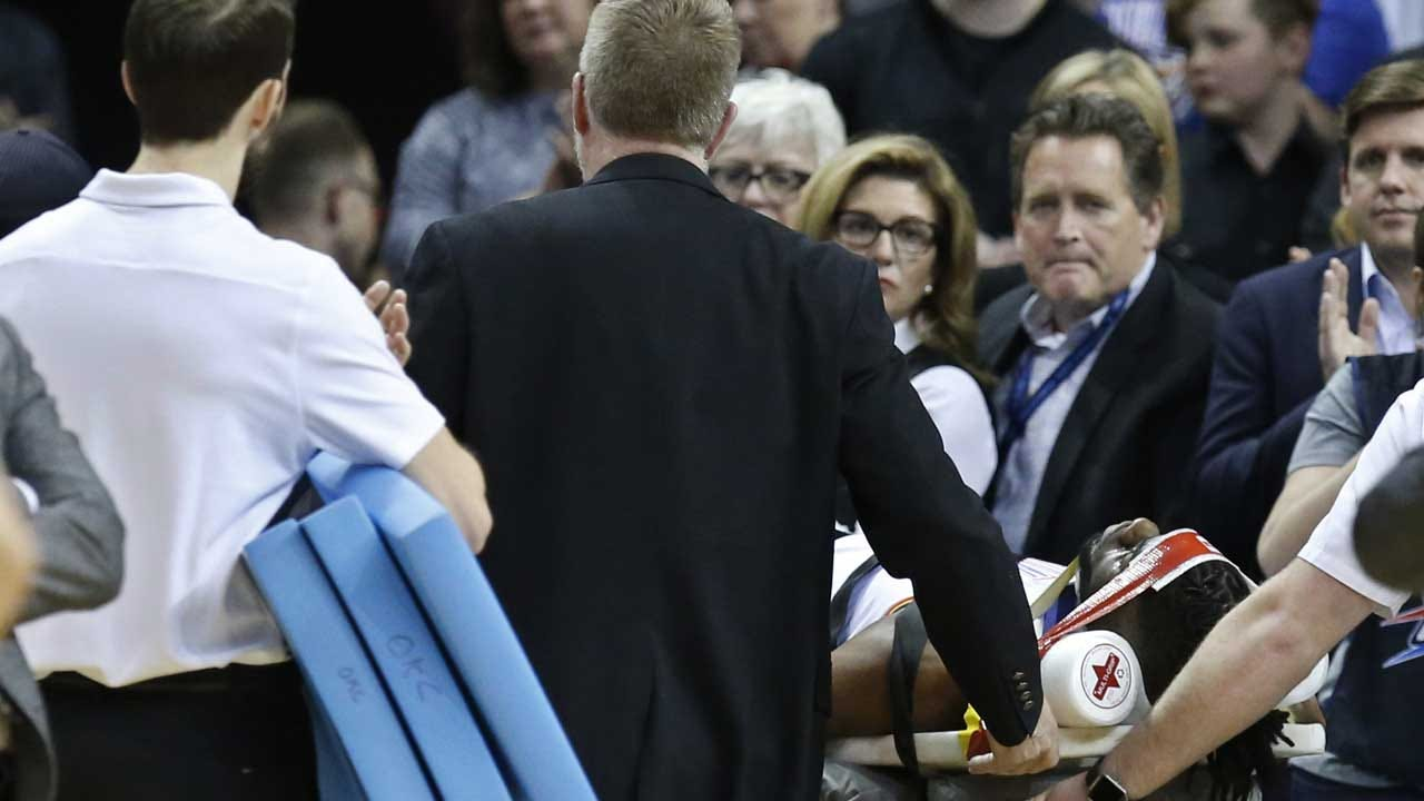 Thunder Center Nerlens Noel Suffers Concussion During Timberwolves Game