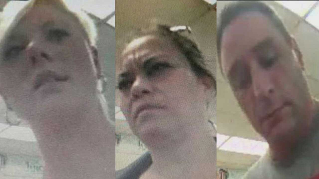 OCPD: 3 Suspects Using Stolen Credit Card Numbers Written On Toilet Paper