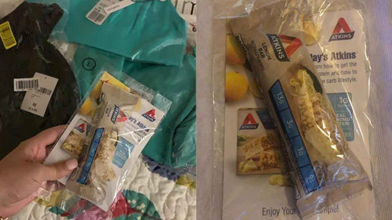 Customers Outraged After Forever 21 Included Diet Bars In Their Clothing Orders
