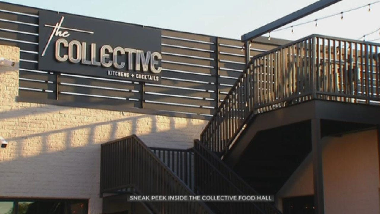 Exclusive Look Inside OKC's First Food Hall, The Collective