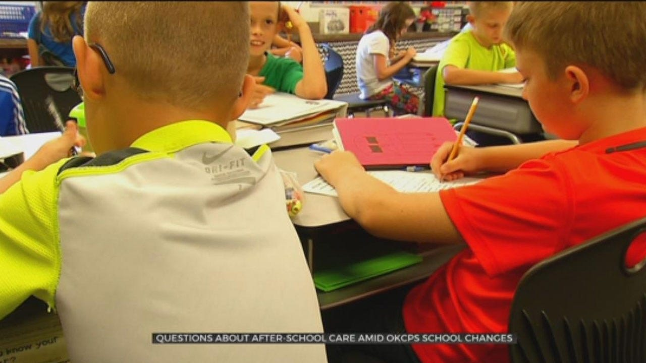 Questions Emerge About After-School Care Amid OKCPS School Changes