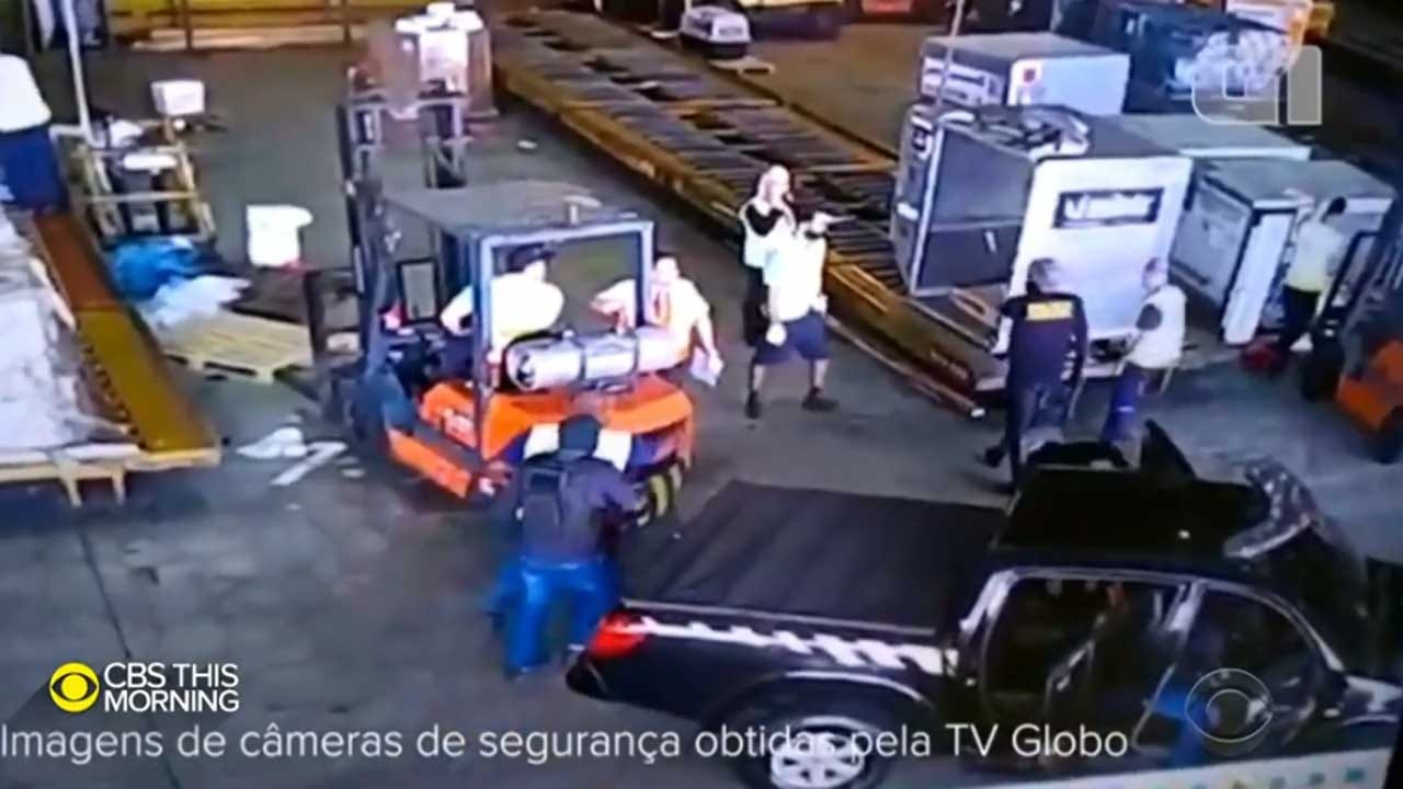 Armed Robbers Take Off With $40 Million Worth Of Gold From Airport Cargo Terminal In Brazil