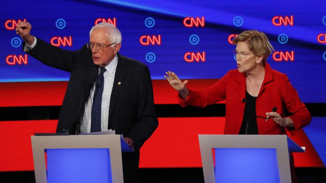 Democratic Debate: Top 2020 Contenders Finally On Same Stage