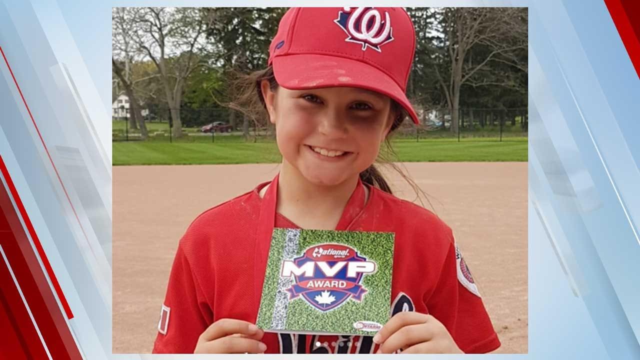 Girl, 8, Creates Amazing Highlight Reel To Prove Her Baseball Skills