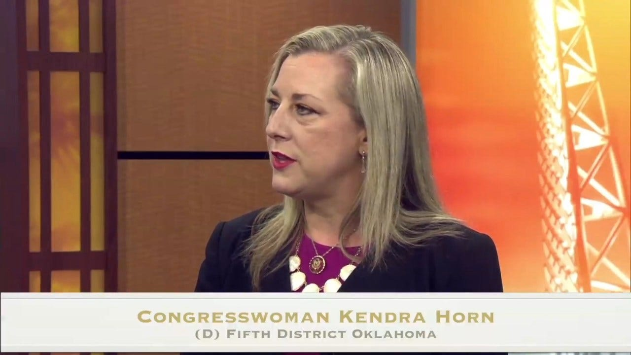 Rep. Kendra Horn, Oklahoma's Lone Democrat, To Vote For Impeachment