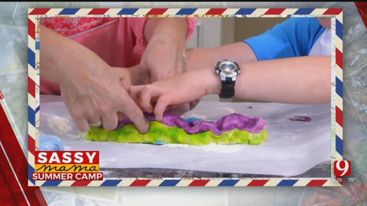 Tie-Dye Cookies