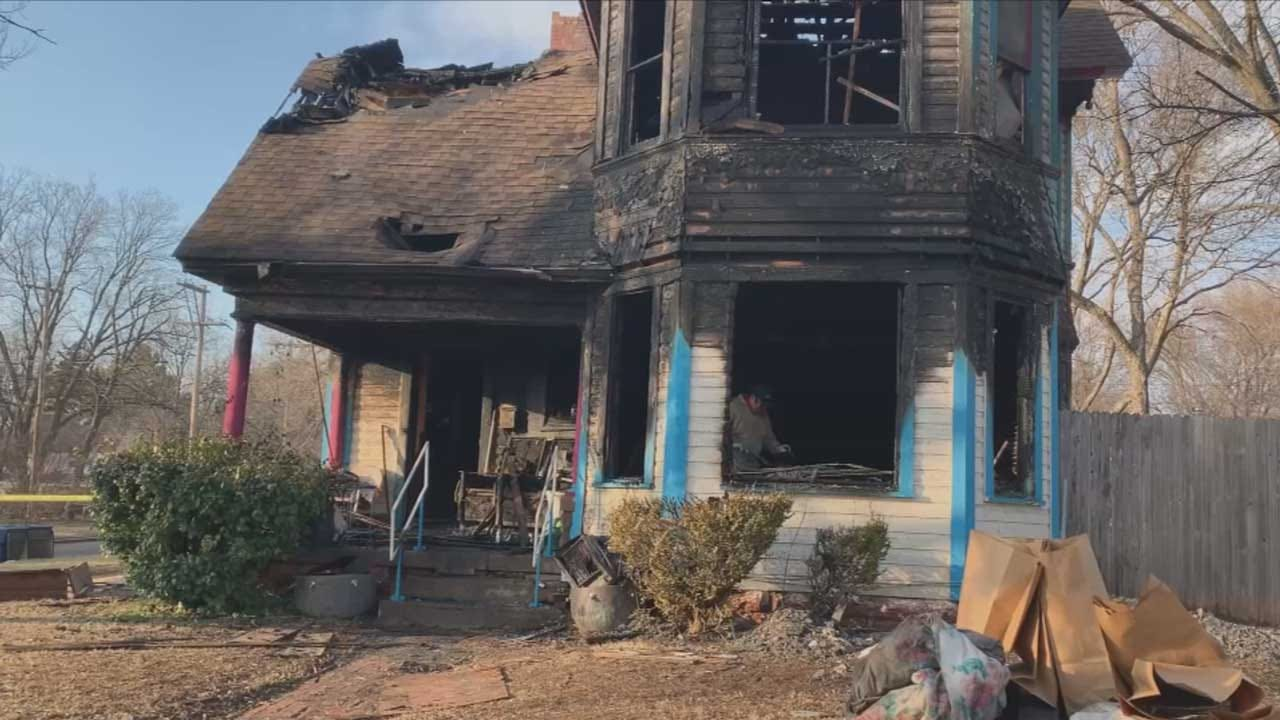 1 Dead, 1 Injured In Guthrie House Fire