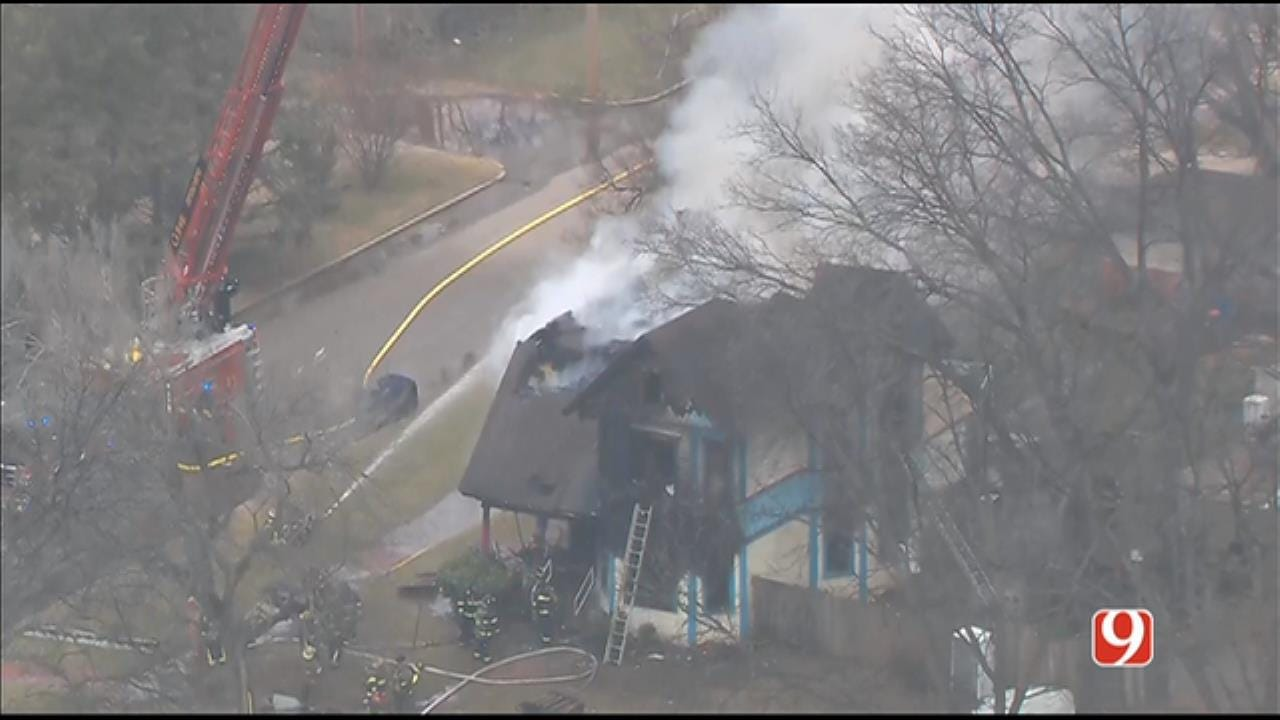 1 Person Found Dead In Guthrie House Fire, Officials Say