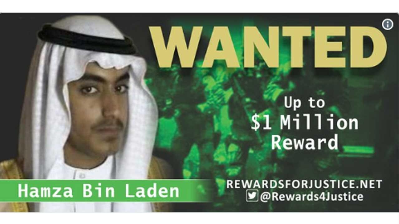 US Offers $1 Million Bounty In Hunt For bin Laden's Son