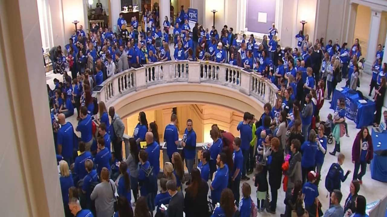 Epic Charter Schools Visit Capitol Amid Investigation
