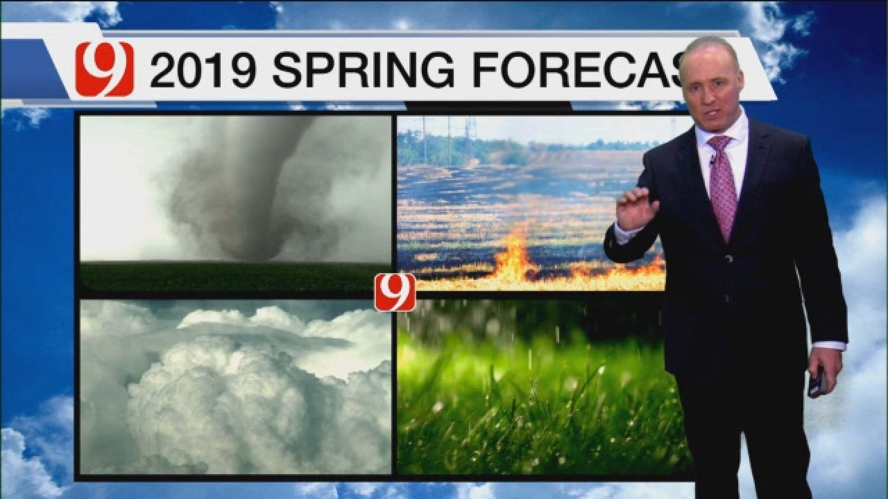 2019 Spring Tornado Forecast For Oklahoma