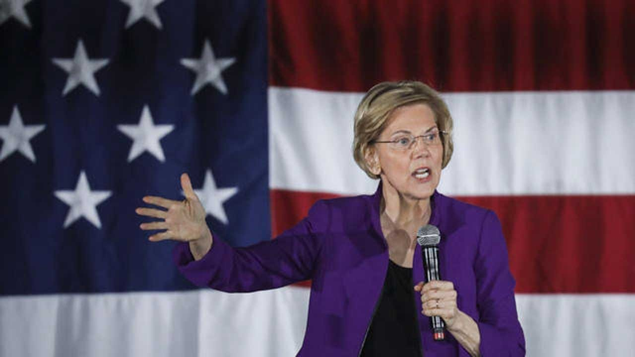 CBS News Poll: Warren Seen As Best Democrat To Handle Trump's Political Attacks In 2020
