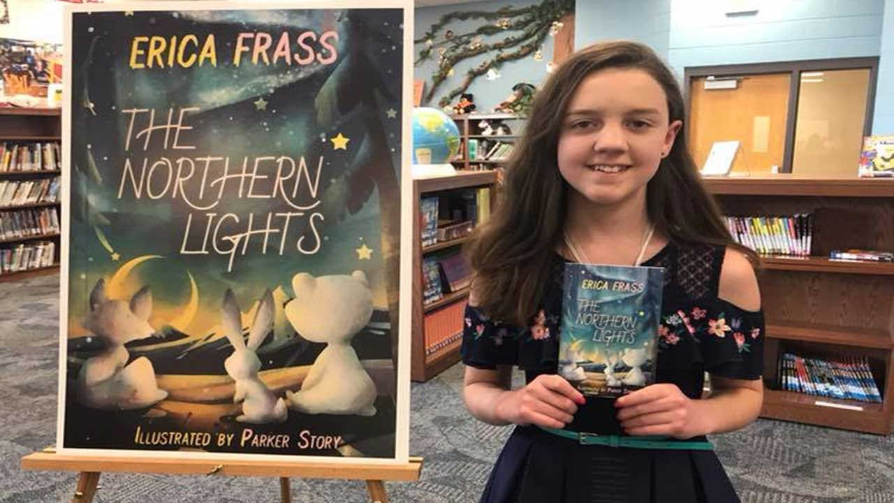 Moore Elementary School Student Publishes First Book After Winning Contest