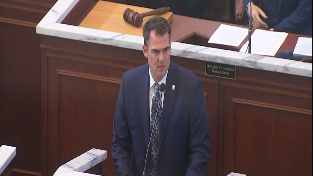 Gov. Stitt Not Looking Into Red Flag Laws For Oklahoma