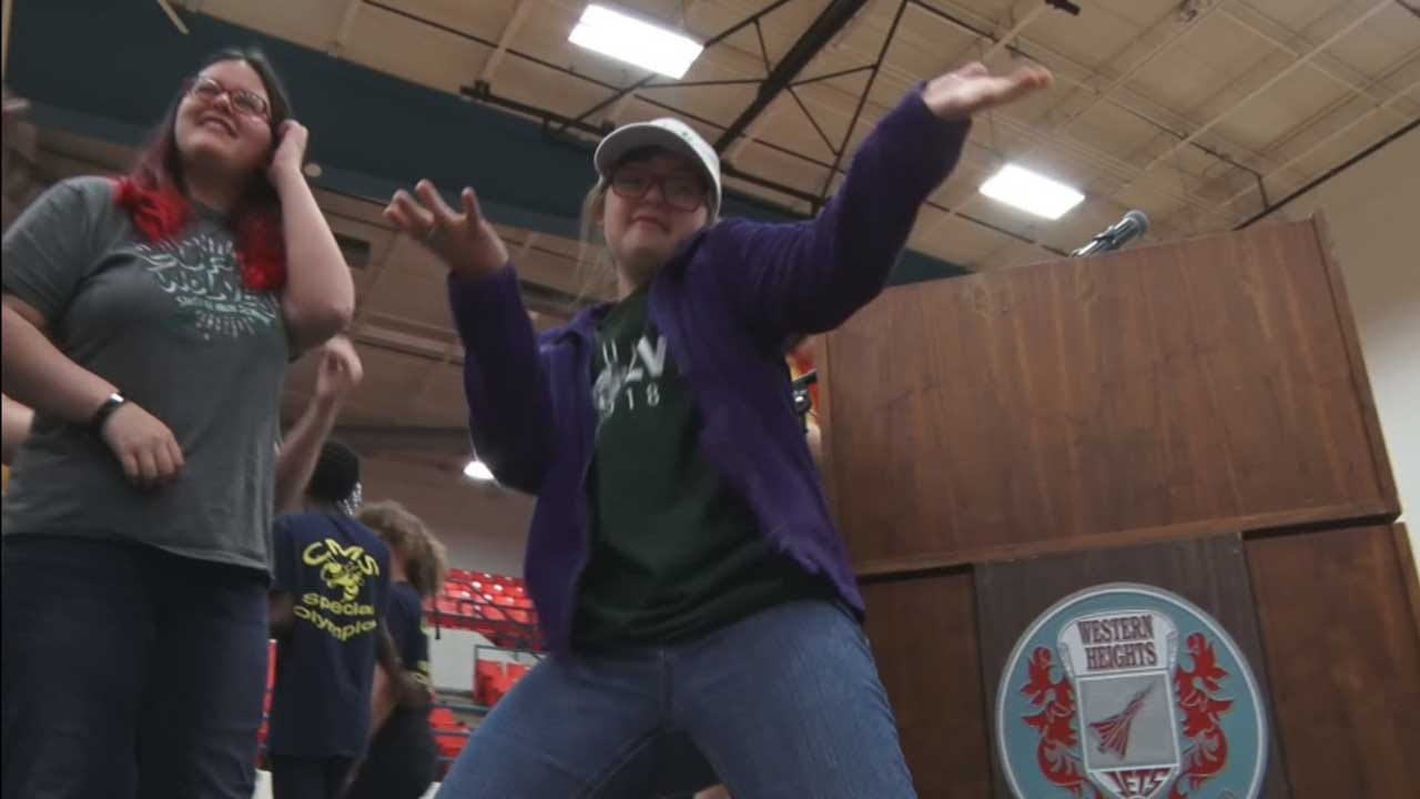 WATCH: OKC Students Perform In Special Olympics Arts, Music Talent Show