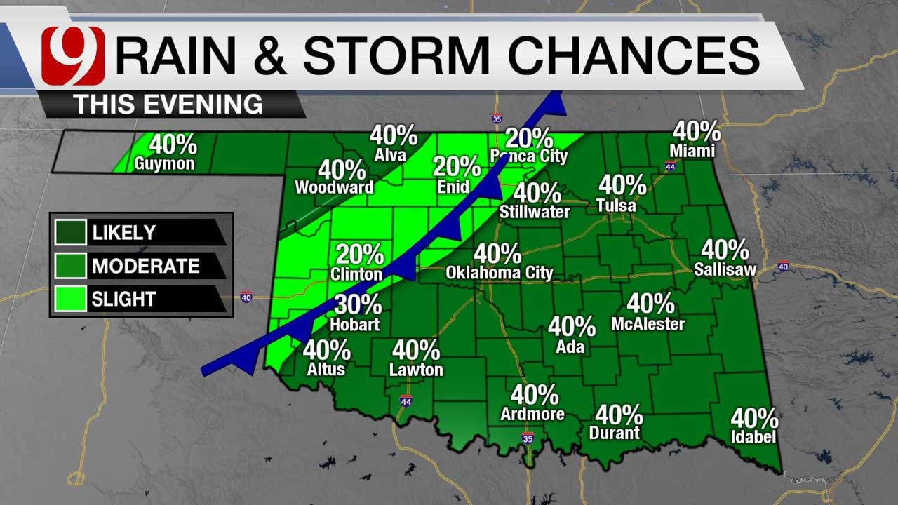 Storms To Continue Friday, Cold Front Moving In For The Weekend