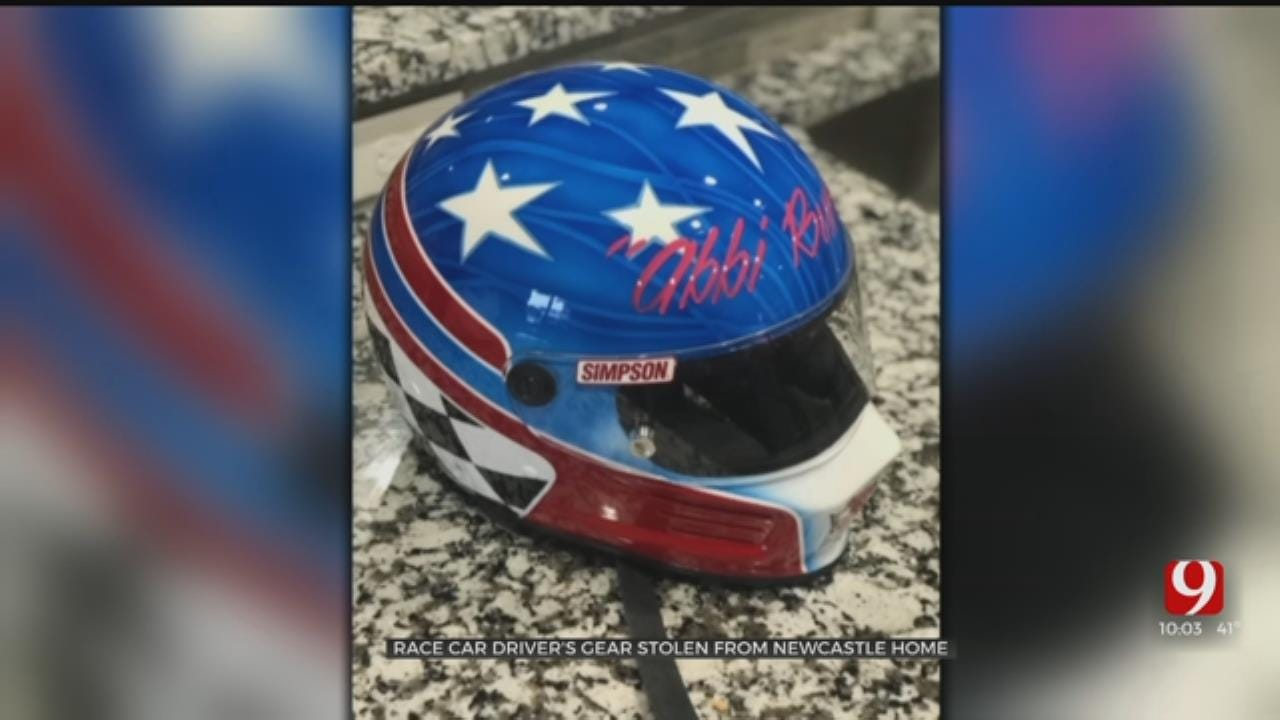 Thief Steals Newcastle Springs Car Racer's Helmet And Gear