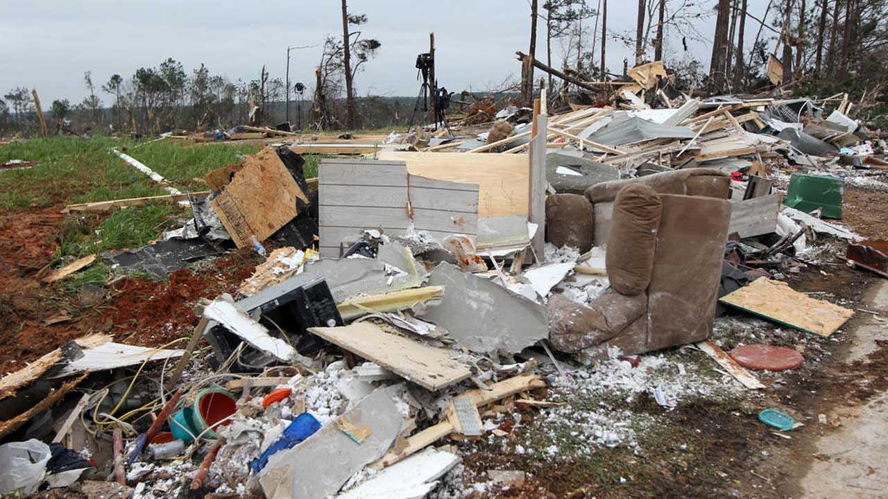 Search Effort Underway With Tornado Death Toll Likely To Rise In Alabama