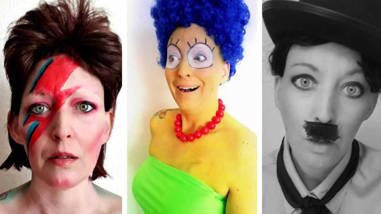Woman Uses Costumes To Stay Positive Through Cancer Treatments, Inspire Others