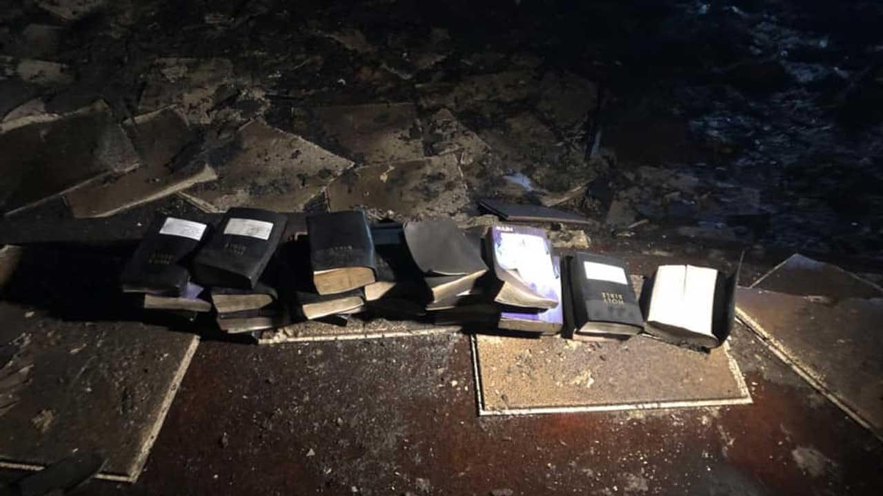 Devastating Church Fire Doesn't Burn A Single Bible