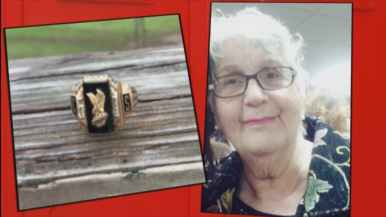 Oklahoma High School Ring Found In Georgia Decades Later