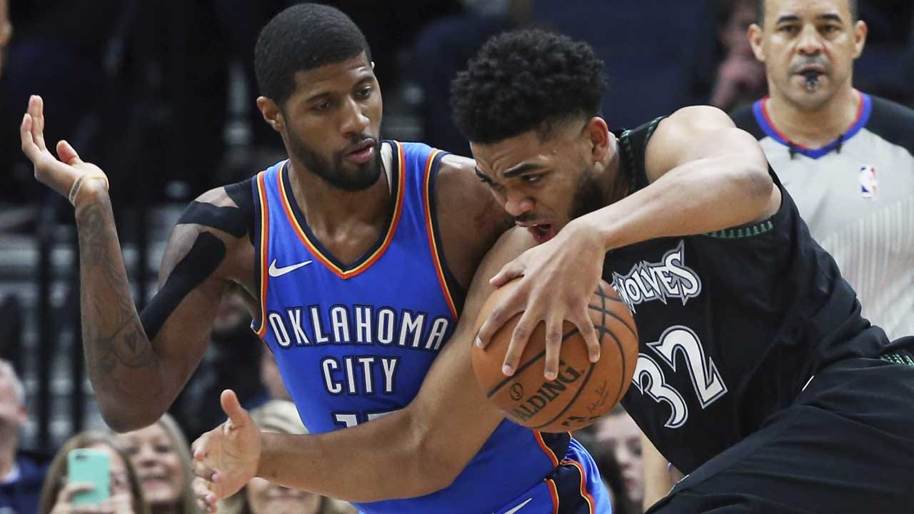 Paul George's Return Spoiled By Timberwolves, Thunder Falls 131-120