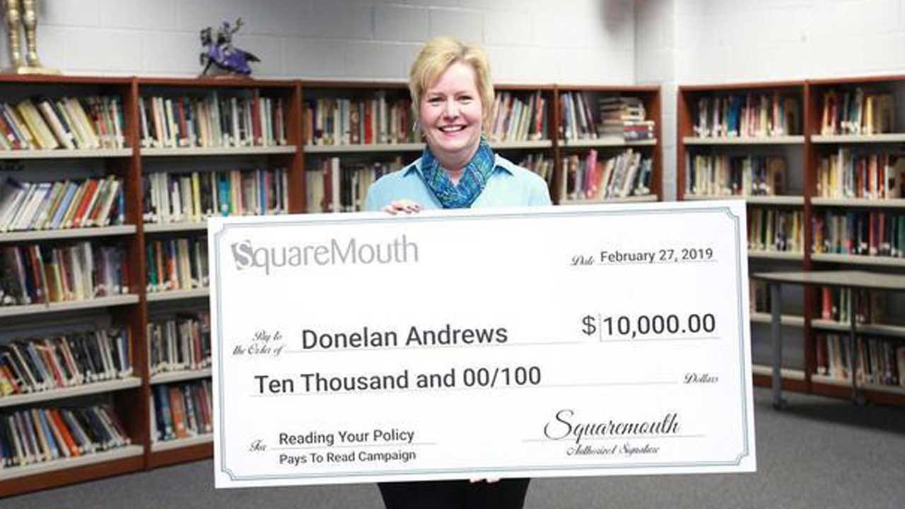 Woman Reads Fine Print On Insurance Policy, Wins $10,000 In Hidden Contest