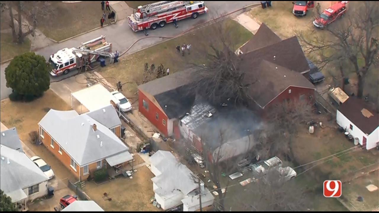 1 Dead After House Fire In NE OKC