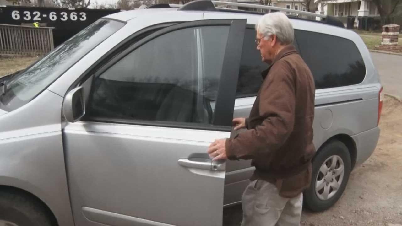 OKC Nonprofit's Van Stolen From Pastor In Broad Daylight