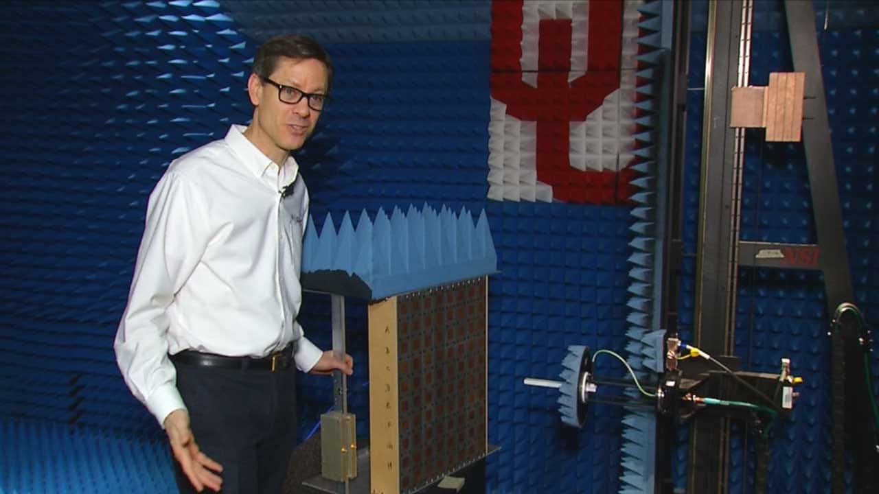 OU Radar Program Builds Hi-Tech Radar