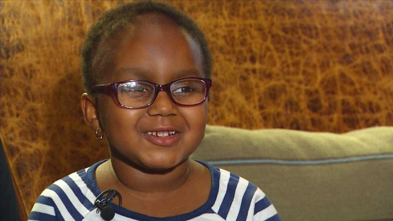 'She's A Fighter': Girl To Be First To Complete Proton Therapy At OU Cancer Center