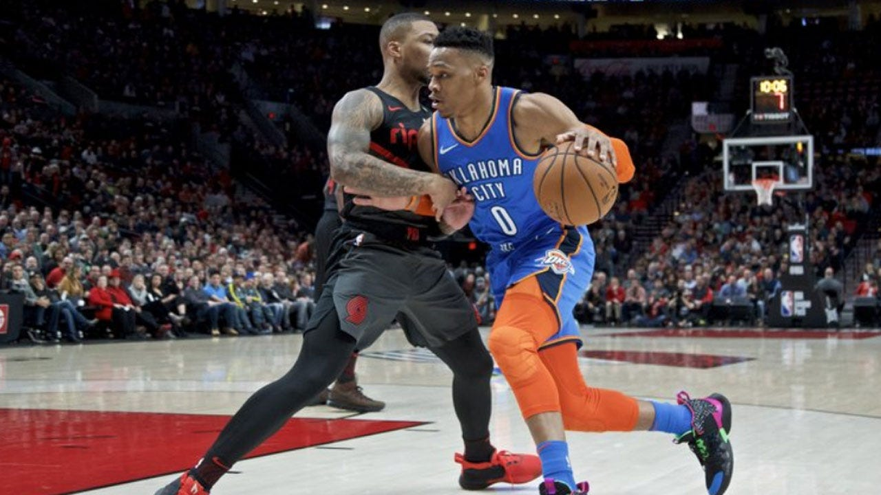 Thunder Get Wild 129-121 OT Victory Over The Trail Blazers