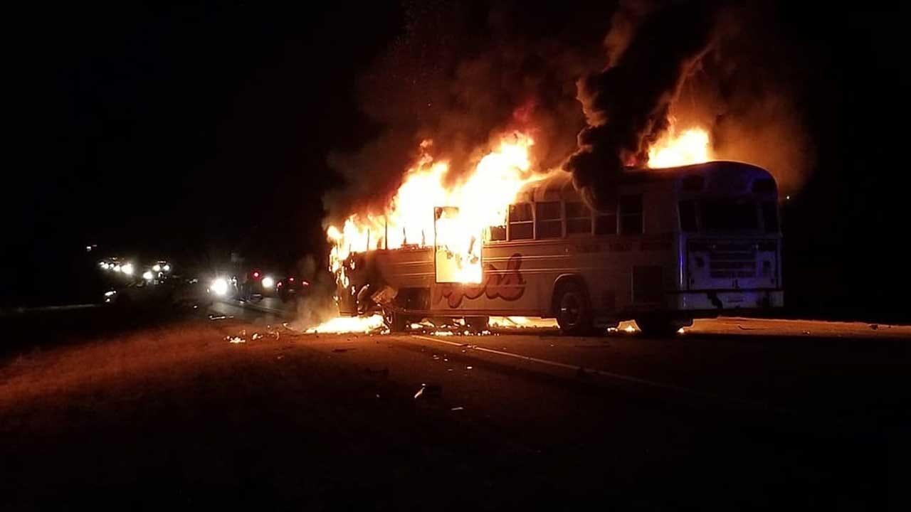 3 Dead Following Crash Involving School Bus In Seminole County