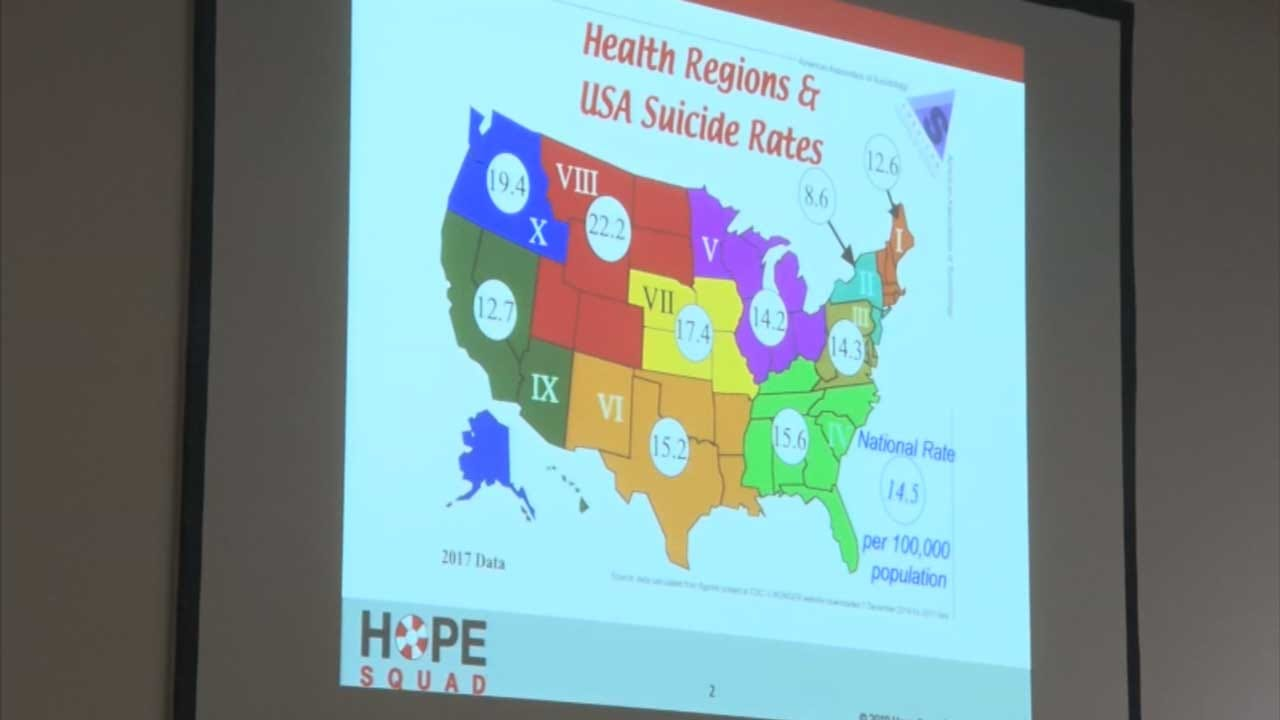 Program To Prevent Youth Suicides Makes Its Way To Oklahoma