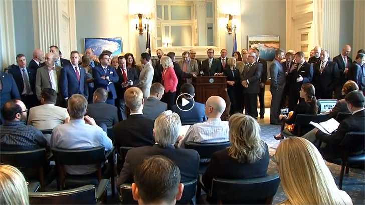 Oklahoma Legislators Appear To Be Joking About Sexual Misconduct In Live Video