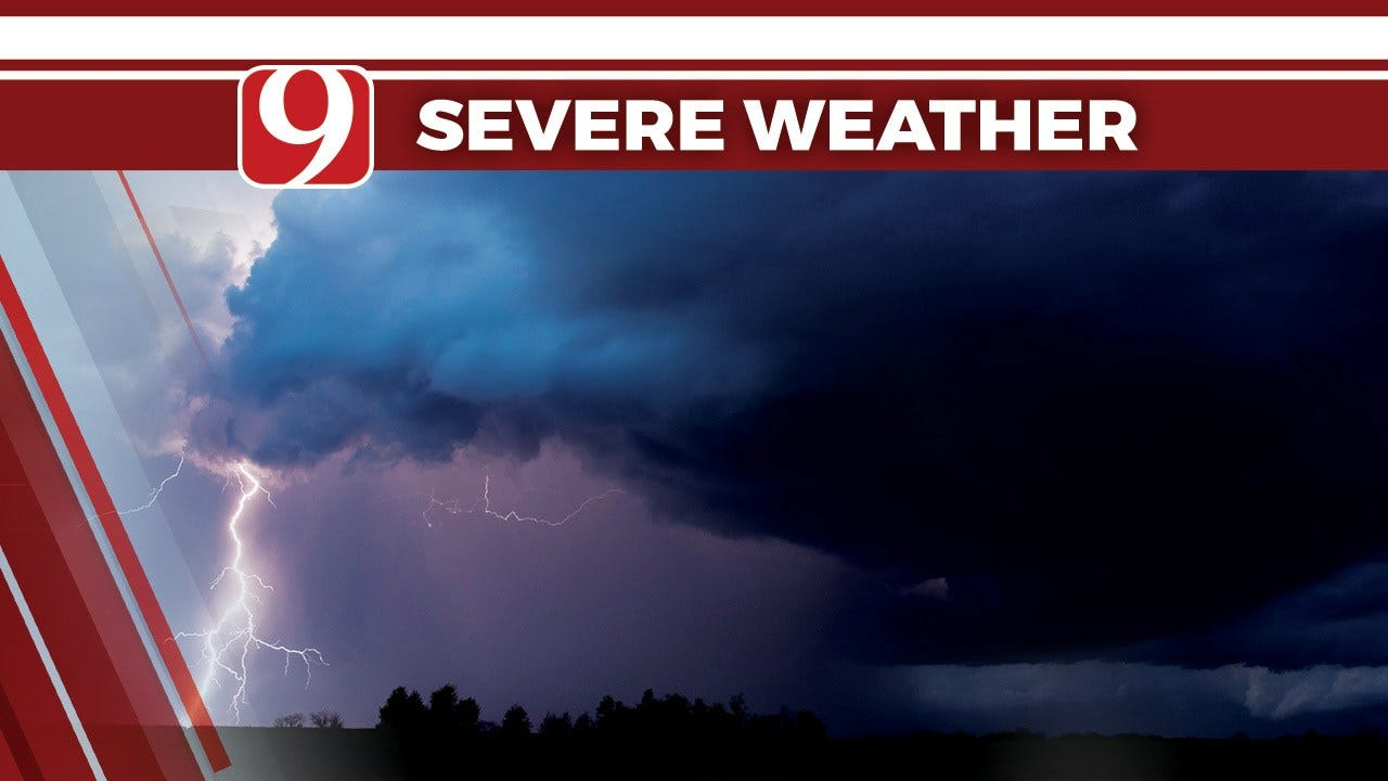 Severe Thunderstorm Watch Extended To Southern Oklahoma Until 6 A.M.