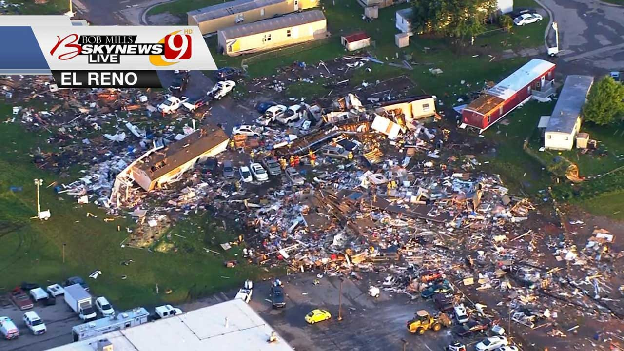 'El Reno Is A Resilient Community': Mayor Gives Update After Deadly EF-3 Tornado