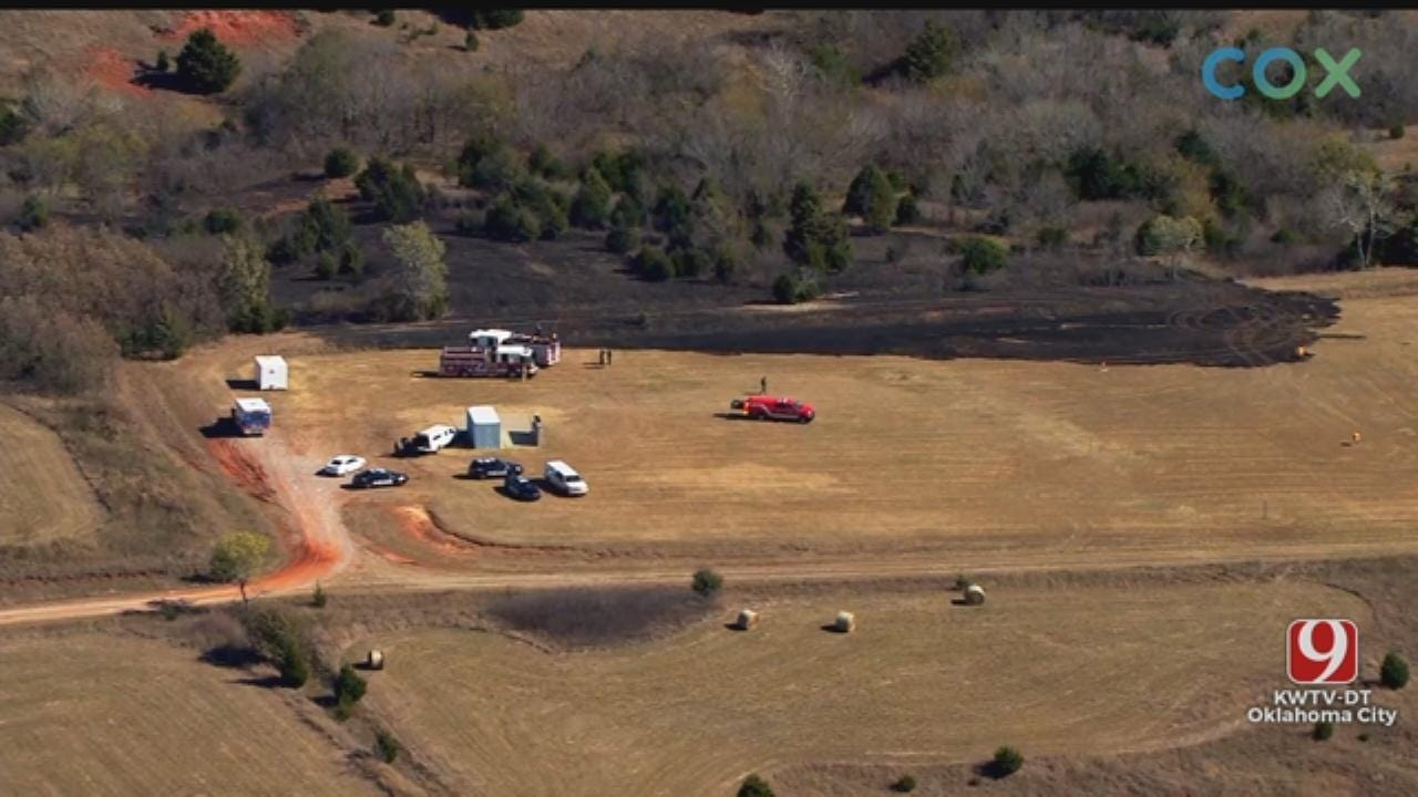 OHP Trooper Injured During Training; Spark Started Grass Fire In SE OKC