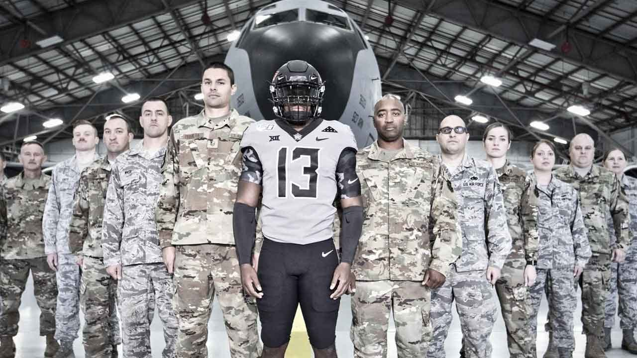 Oklahoma State To Honor Veterans With Special Uniforms Against Kansas