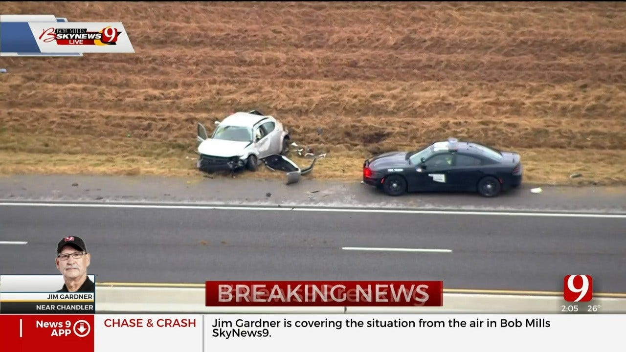 Troopers Identify Man Killed In Police Chase On Turner Turnpike