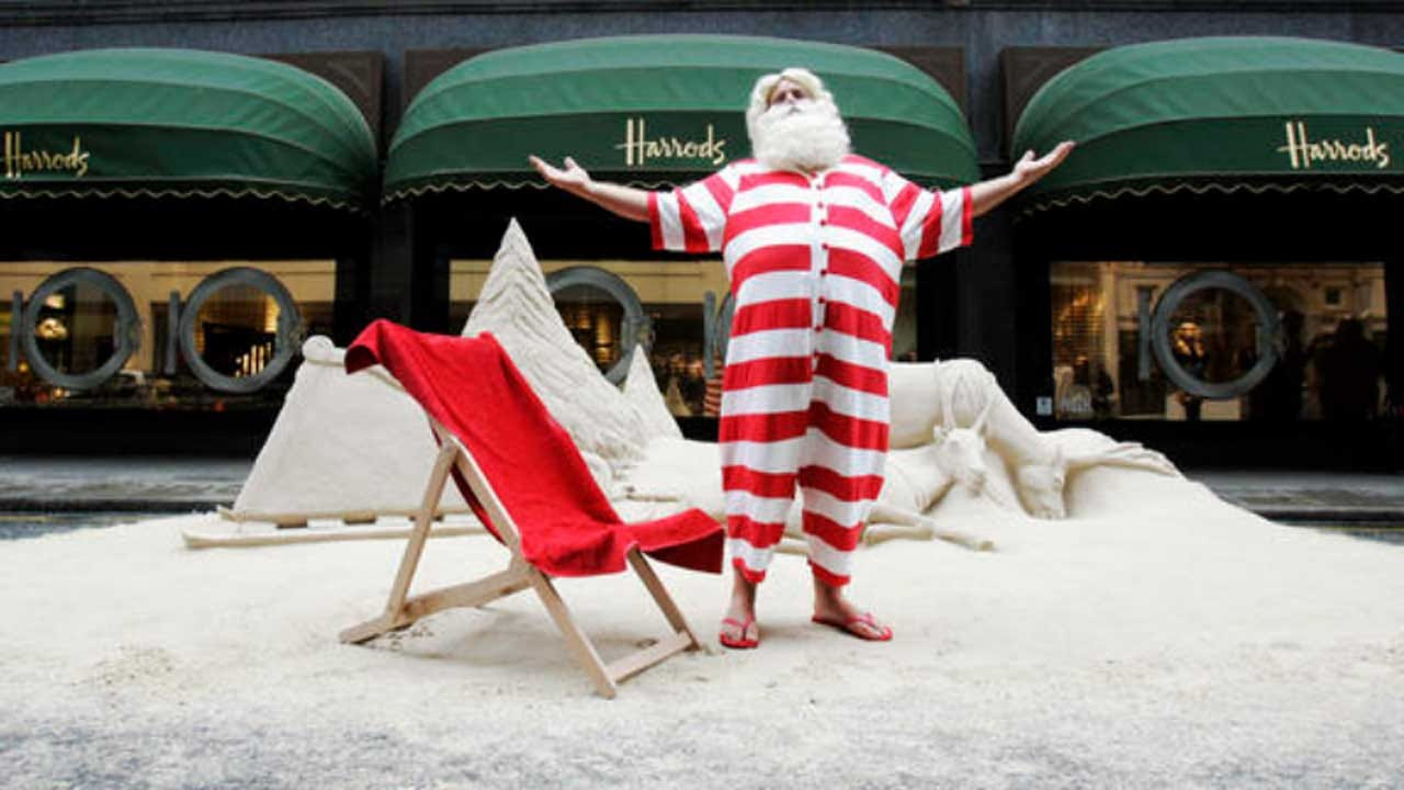 Santa For The 1%: You'll Have To Spend $2,500 To Visit This Store Santa