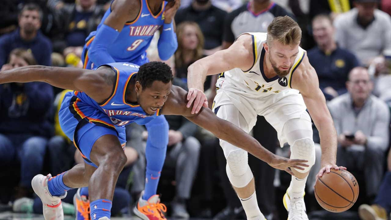 Thunder Goes Ice Cold In Indy, Loses 85-111