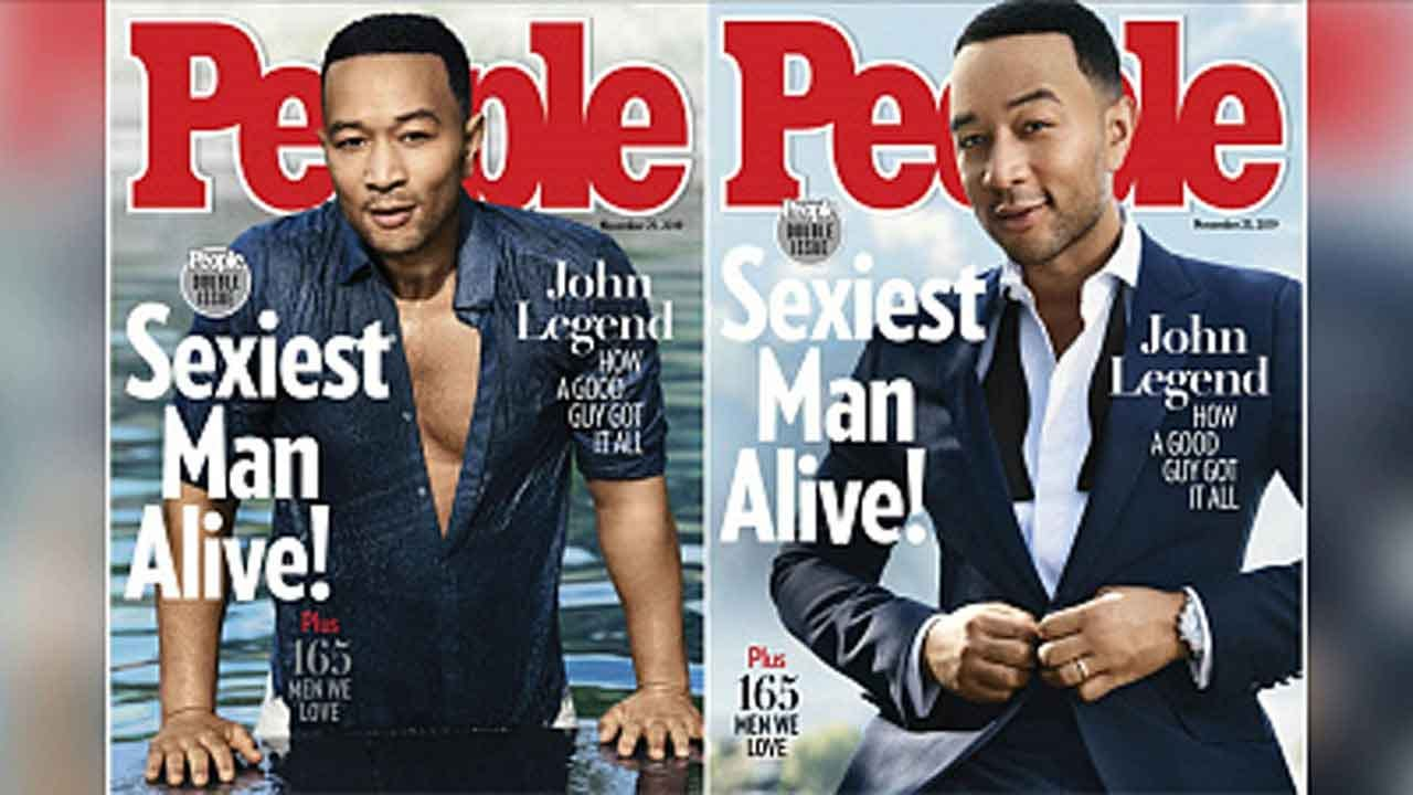John Legend Named '2019 Sexiest Man Alive' By People Magazine