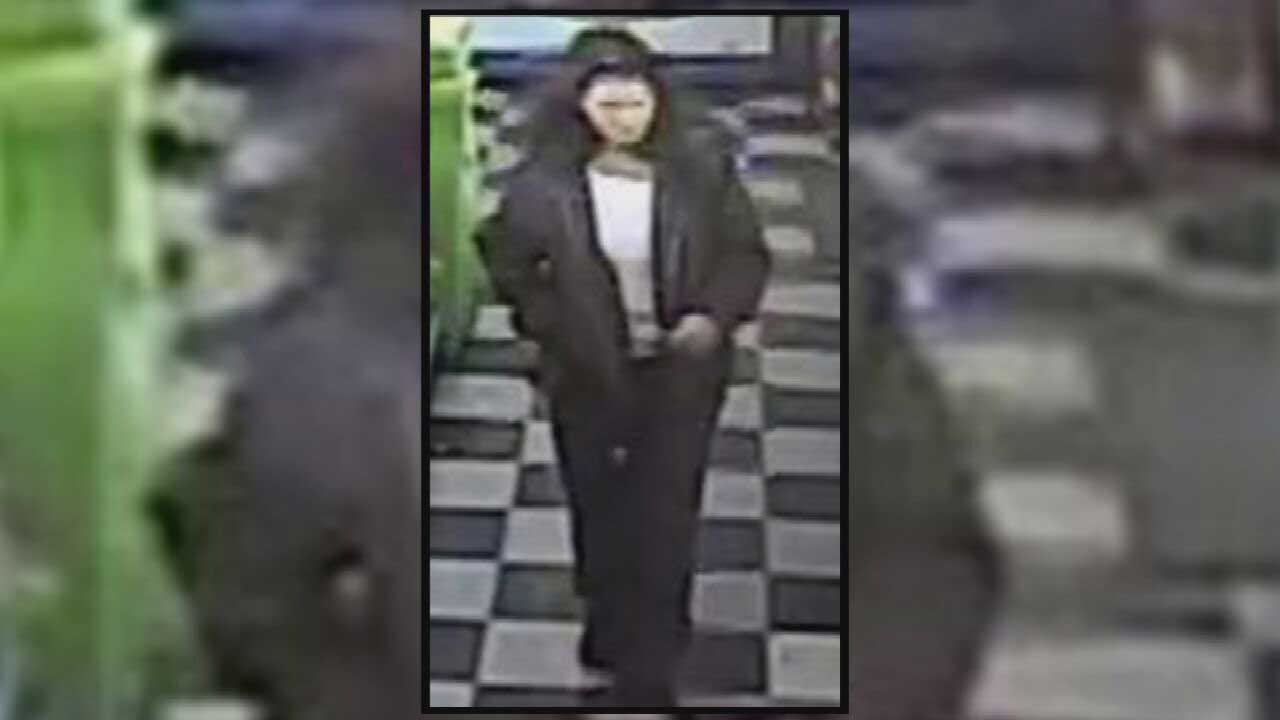 WATCH: Surveillance Photos Capture Woman Using OKC Home Invasion Victim's Bank Card