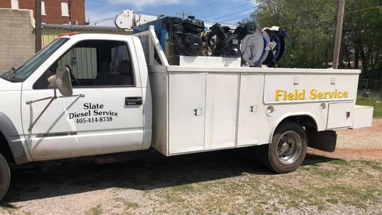 Oklahoma Veteran Asks For Public's Help In Locating Stolen Work Truck Filled With Tools, Equipment
