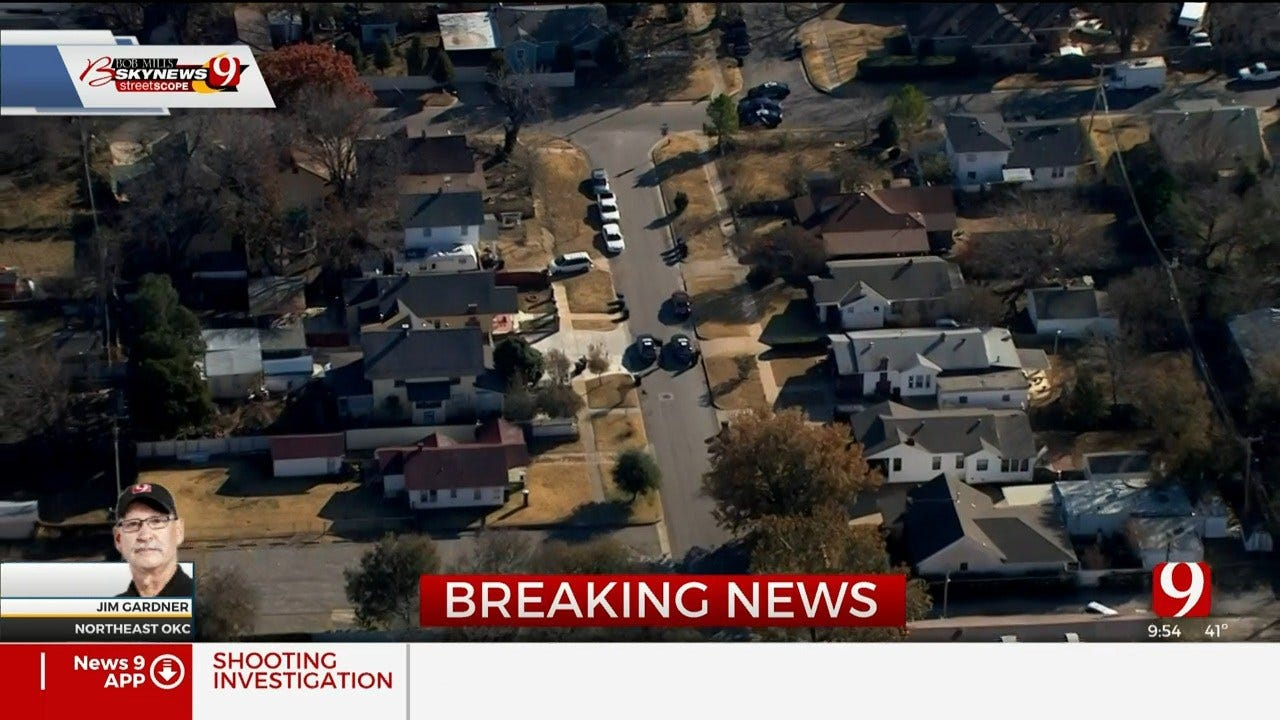Police Investigate Shots Fired Call In NW OKC