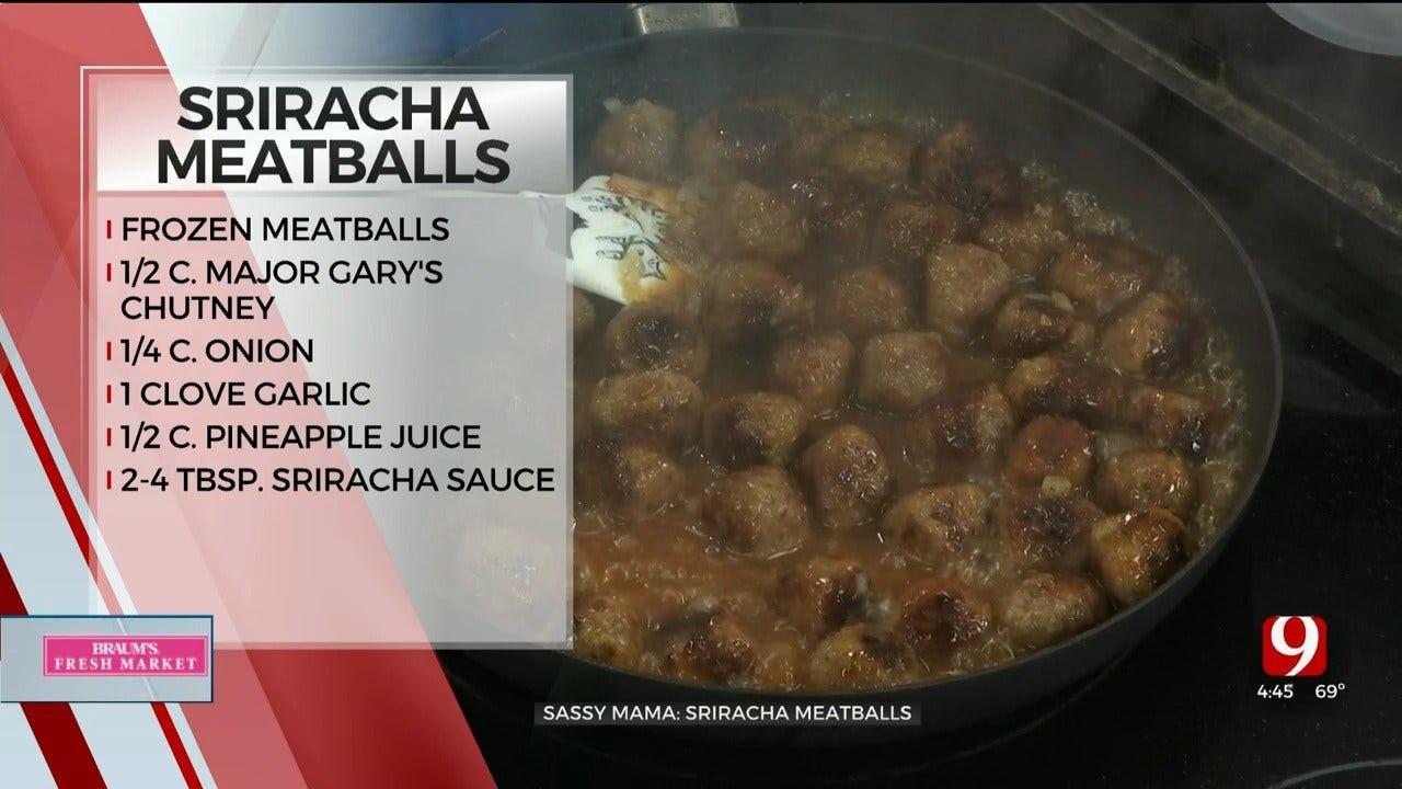 Sriracha Meatballs