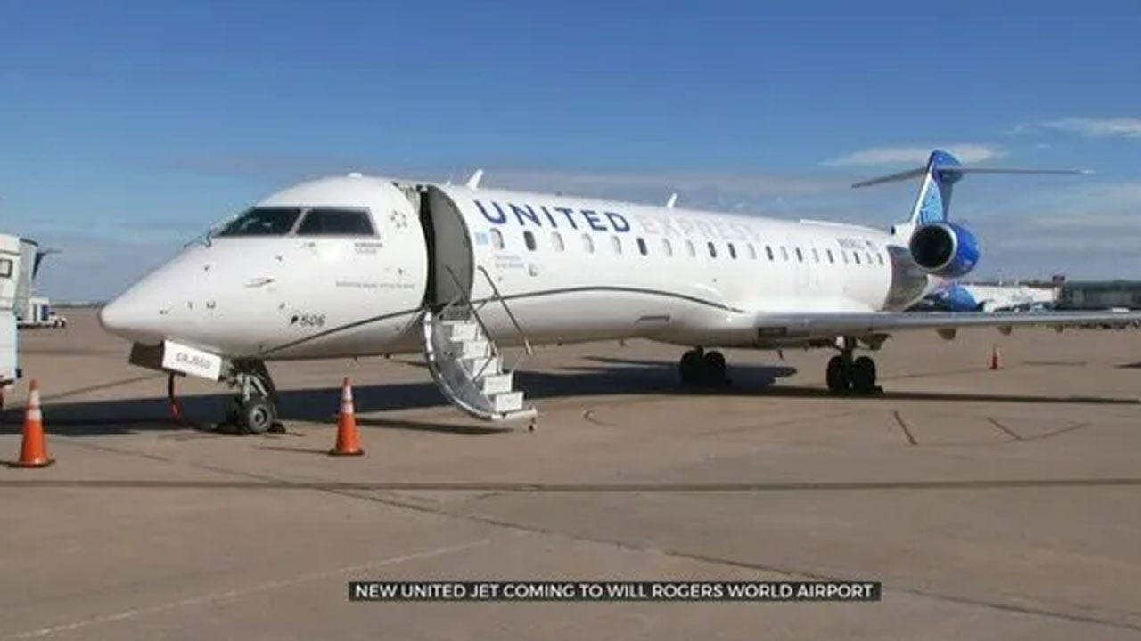 New United Jet Coming To Will Rogers World Airport