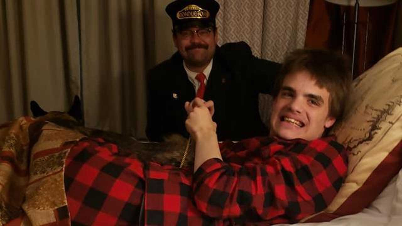 After Teen With Autism Missed Ride On The 'Polar Express,' The Conductor Visited Him For A Magical Experience