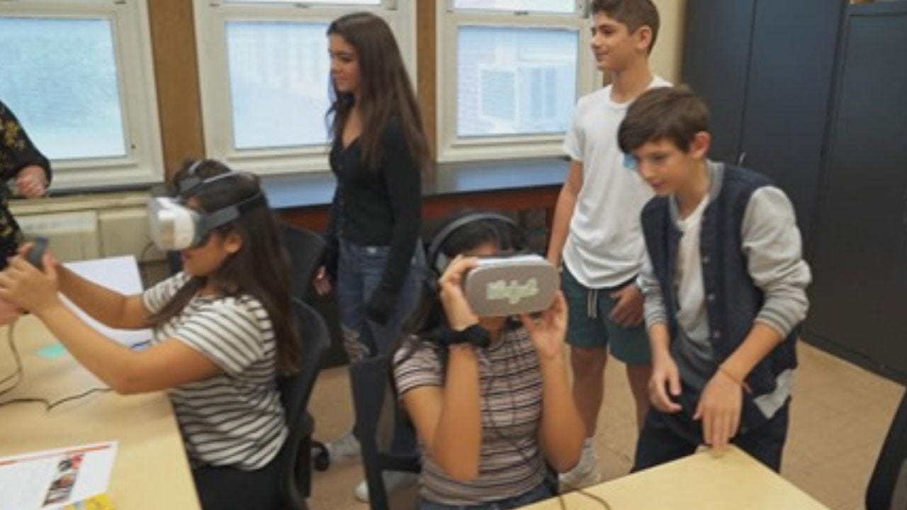 New Jersey School District Turns To Virtual Reality To Show How Bullying Feels